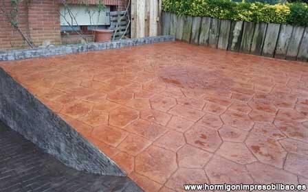 Cum se obtine betonul amprentat?
